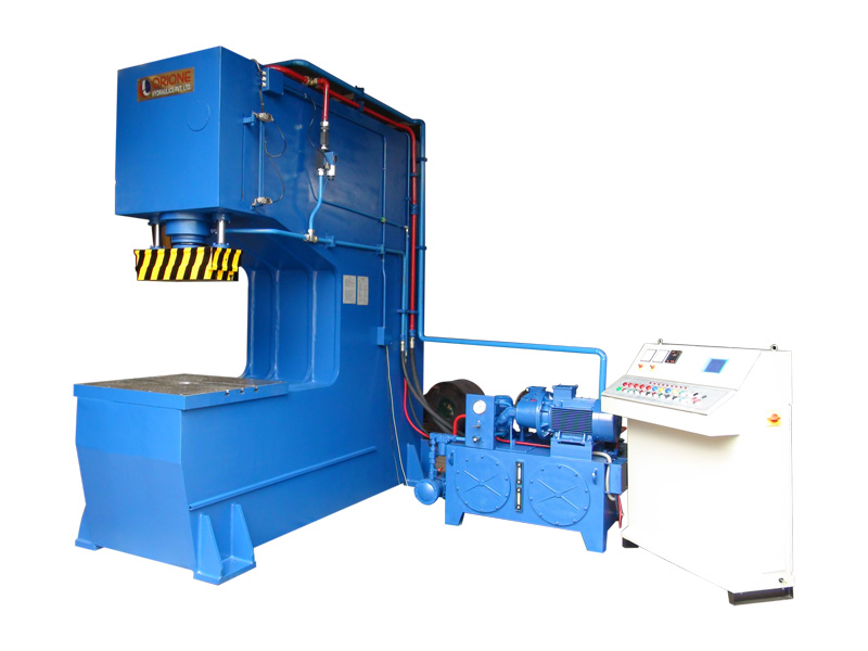 100 ton Semi Automatic PLC Metal Forming Press (Electronic pressure & stroke control)